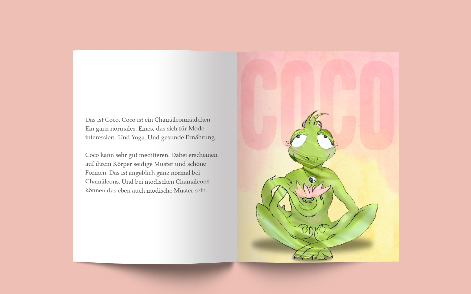 Illustration Kinderbuch COCO und KARL